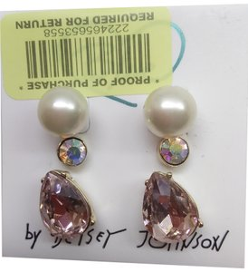 Betsey Johnson Betsey Johnson New 3 Earring Studs