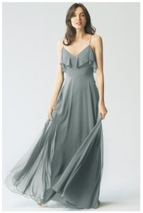 Jenny Yoo Mineral Chiffon - Color: Mila Luxe Style #1785 Formal Bridesmaid/Mob Dress Size 10 (M)
