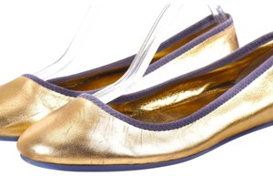 Marc by Marc Jacobs gold Flats