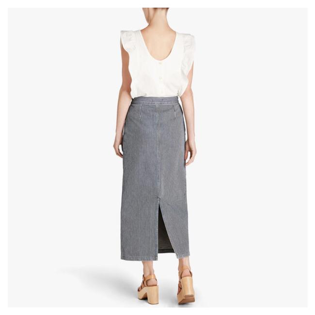 MiH Jeans Maxi Skirt striped