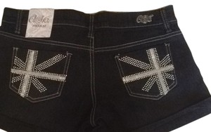 Cache Shorts Dark Denim Blackish Blue