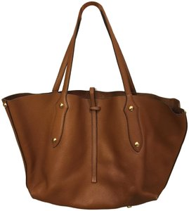 Annabel Ingall Isabella Goldstud Tote in Brown