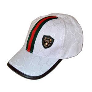 Gucci Gucci G G Baseball Cap With Red Green Web and Box