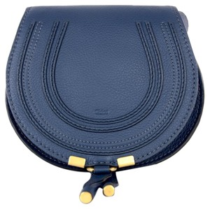 Chloé Leather Marcie Saddle Cross Body Bag