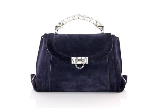 Preload https://img-static.tradesy.com/item/24181225/salvatore-ferragamo-soft-sofia-large-white-snakeskin-trim-crossbody-navy-suede-leather-satchel-0-0-540-540.jpg