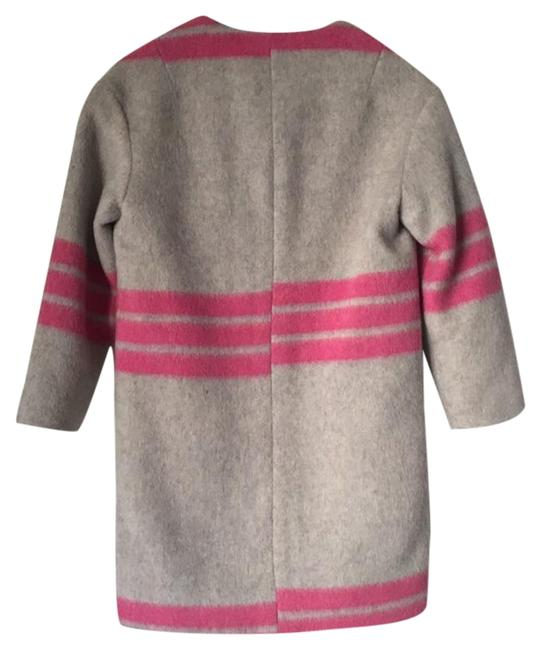 Preload https://img-static.tradesy.com/item/24181246/-and-other-stories-grey-mohair-pink-wool-combo-jacket-size-4-s-0-1-650-650.jpg