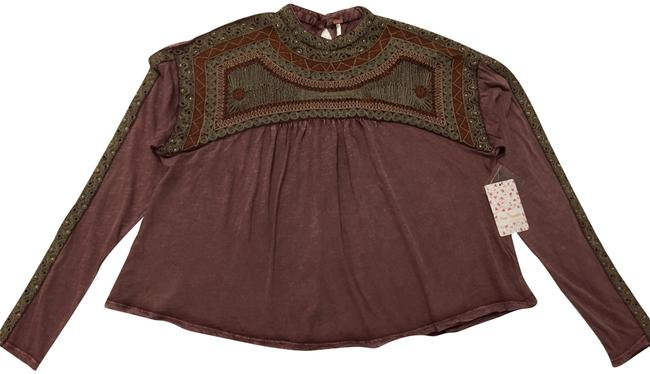 Preload https://img-static.tradesy.com/item/24181250/free-people-plum-spiced-blouse-size-2-xs-0-1-650-650.jpg