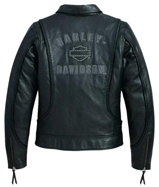 Preload https://img-static.tradesy.com/item/24181252/harley-davidson-black-womens-heritage-braided-98064-13v-jacket-size-12-l-0-1-650-650.jpg