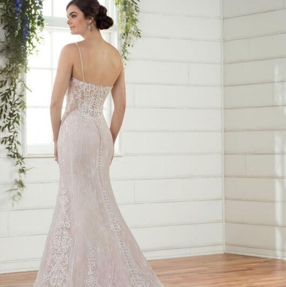 Essense Of Australia Ivorymoscato Lace Over French Tulle With