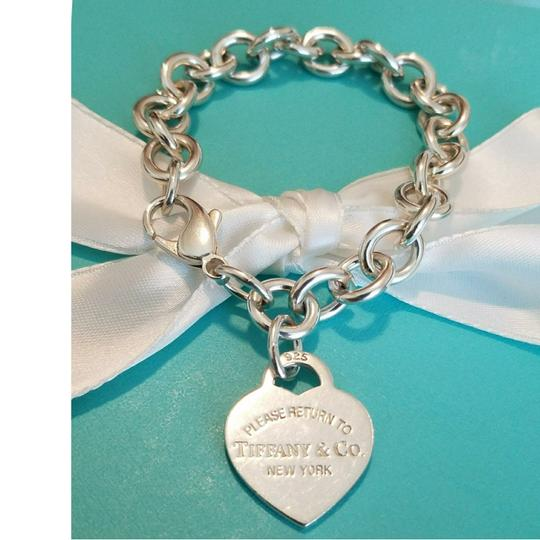Tiffany & Co. Return to Tiffany heart tag bracelet