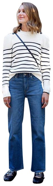 Preload https://img-static.tradesy.com/item/24181268/la-vie-rebecca-taylor-blue-medium-wash-27-straight-leg-jeans-size-4-s-27-0-2-650-650.jpg
