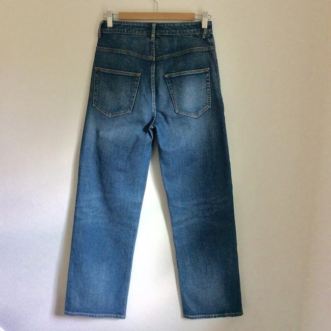 La Vie Rebecca Taylor Straight Leg Jeans-Medium Wash