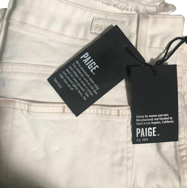 "Paige Cream Pink Light Wash Hoxton Ankle 27"" Straight Leg Jeans Size 10 (M, 31) Paige Cream Pink Light Wash Hoxton Ankle 27"" Straight Leg Jeans Size 10 (M, 31) Image 1"