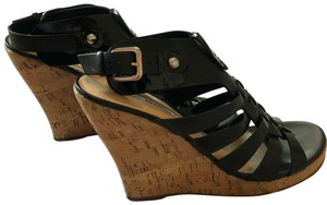 Via Spiga Black Wedges