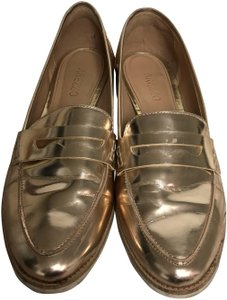 Arezzo Flats Gold Sandals