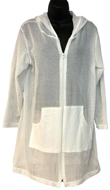 Preload https://img-static.tradesy.com/item/24181359/jordan-taylor-white-perforated-hoodies-swim-cover-ups-os-blouse-size-os-one-size-0-1-650-650.jpg