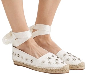 Aquazzura White Flats