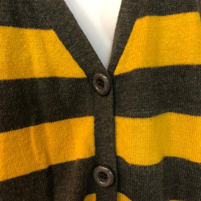 Urban Outfitters Knit Sweater Top Yellow/Gray