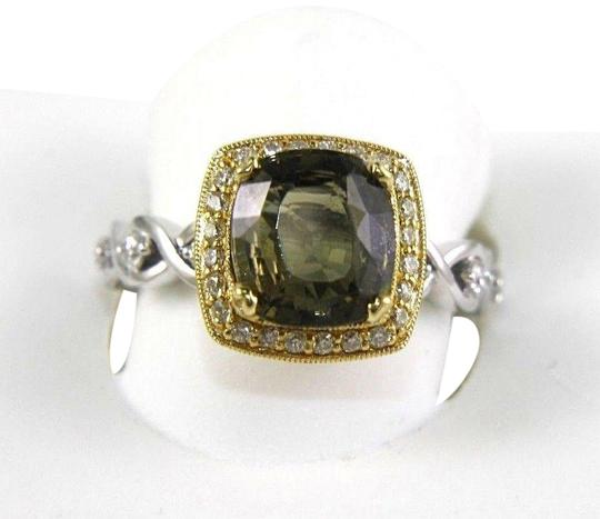 Preload https://img-static.tradesy.com/item/24181404/green-and-yellow-and-silver-tourmaline-diamond-solitaire-18k-2-tone-gold-360ct-ring-0-1-540-540.jpg