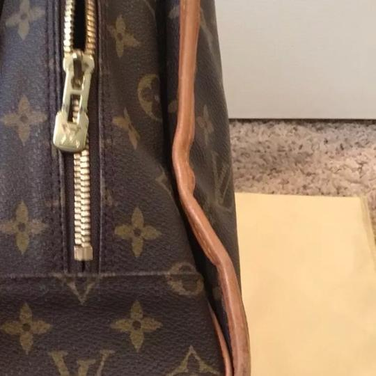 Louis Vuitton Satchel in Tan, Brown
