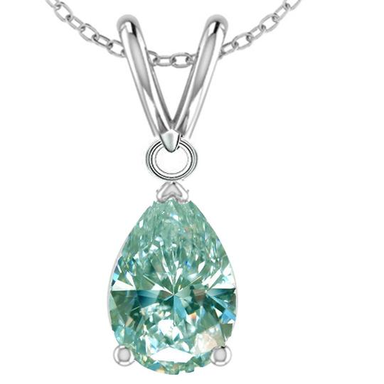 Preload https://img-static.tradesy.com/item/24181447/blue-100ct-bue-moissanite-necklace-0-0-540-540.jpg
