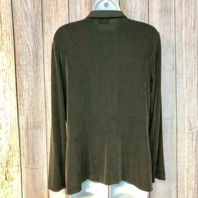 Chico's Knit Top Dark green