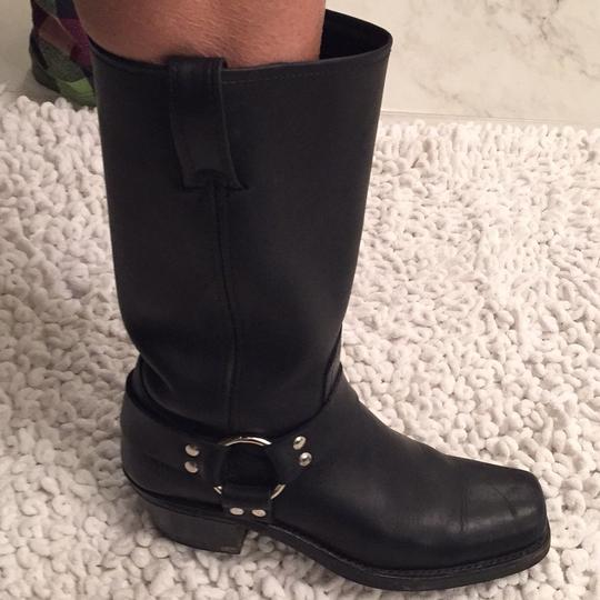 Frye Harness 12R Boot Classic Studded black Boots