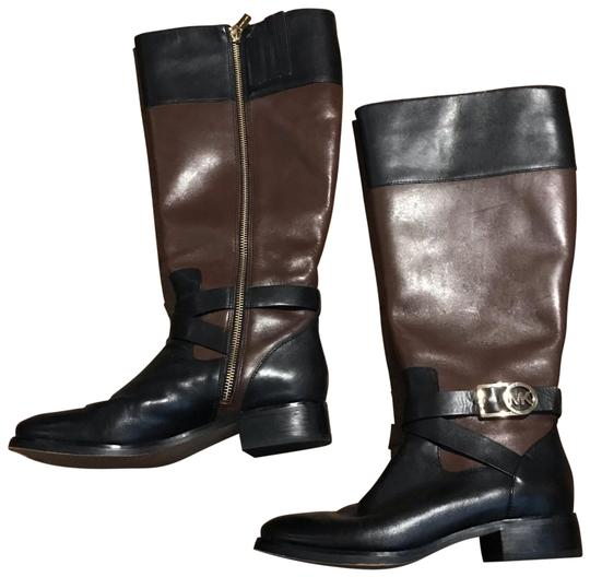Michael Kors black and brown Boots