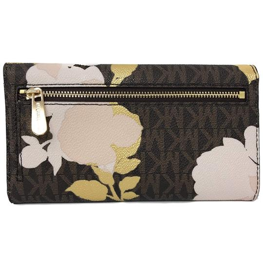 Michael Kors New Floral Trifold Signature