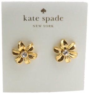 Kate Spade New Kate Spade Gold Dazzling Daisies Earrings
