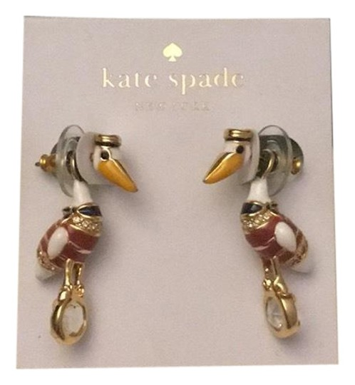 Preload https://img-static.tradesy.com/item/24181611/kate-spade-white-and-red-wbruc561-earrings-0-1-540-540.jpg