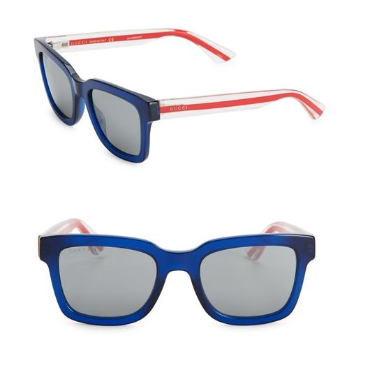 Preload https://img-static.tradesy.com/item/24181643/gucci-blue-squared-sunglasses-0-0-540-540.jpg