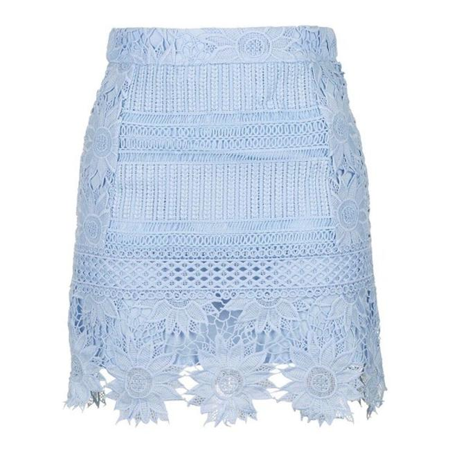 Preload https://img-static.tradesy.com/item/24181676/topshop-blue-flower-cutwork-lace-a-line-skirt-size-6-s-28-0-1-650-650.jpg