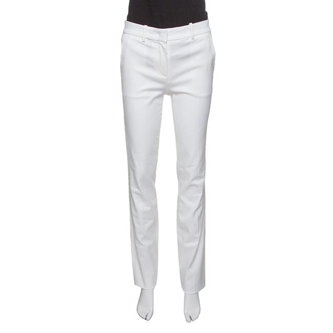 Preload https://img-static.tradesy.com/item/24181703/roberto-cavalli-white-firenze-cotton-high-waist-straight-fit-pants-l-trouserwide-leg-jeans-size-35-1-0-0-650-650.jpg
