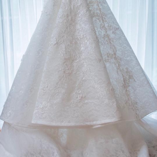 Off White Modern Wedding Dress Size 4 (S)