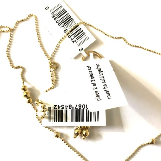 Macy's Lariat and Earring Set in 14K Yellow Gold Image 7