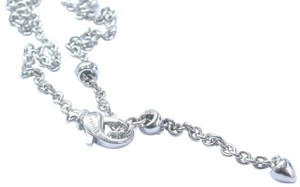 BVLGARI Bvlgari Bulgari 18k White Gold Chain Necklace 19
