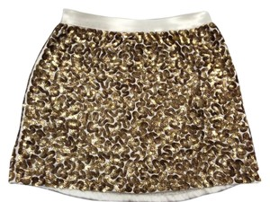 Alice + Olivia Skirt Gold
