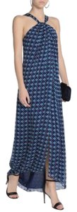 multicolor Maxi Dress by Diane von Furstenberg Floral Flowy Sheer