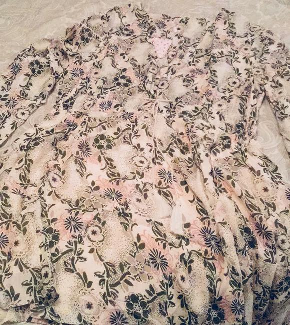 Free People short dress Ivory Floral on Tradesy