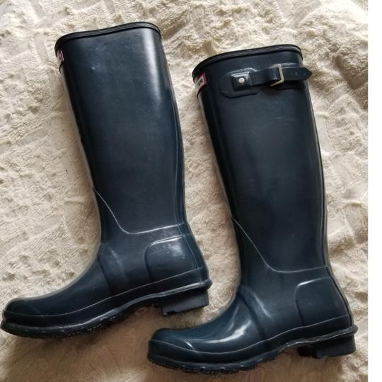 Hunter Navy blue Boots
