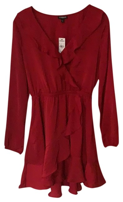 Preload https://img-static.tradesy.com/item/24181879/express-red-long-sleeve-mid-length-cocktail-dress-size-4-s-0-1-650-650.jpg