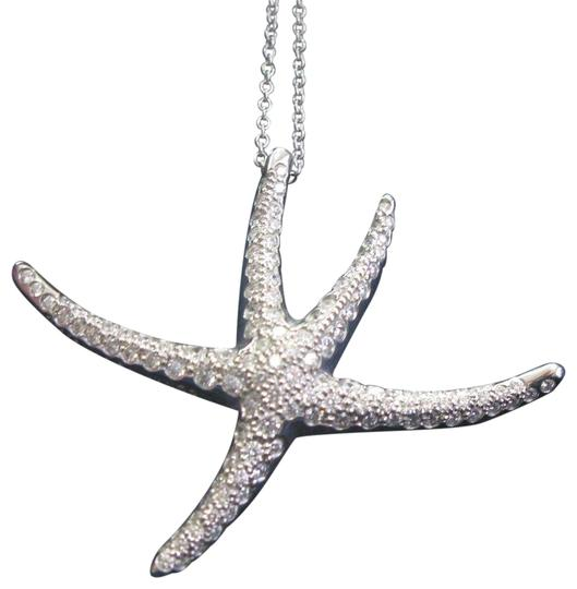 Preload https://img-static.tradesy.com/item/24181883/tiffany-and-co-co-platinum-large-starfish-pave-diamond-pendant-12-necklace-0-2-540-540.jpg