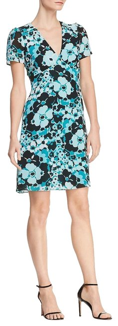 Preload https://img-static.tradesy.com/item/24181938/michael-kors-tile-blueblack-womens-blueblack-high-waist-above-knee-gardensize10-short-cocktail-dress-0-1-650-650.jpg