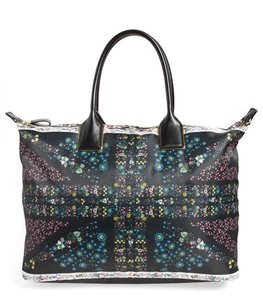 Ted Baker Travel Diaper Beach Shoulder Gem Garden Tote in Black