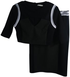 Do & Be Sporty Cut-out Jersey Casual Color-blocking Dress