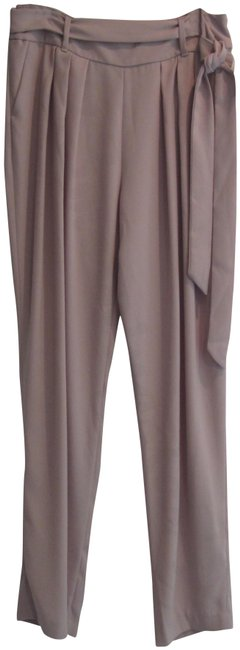 Preload https://img-static.tradesy.com/item/24182325/ellen-tracy-beige-fawn-pleated-belted-style-no-d1p65815e-pants-size-10-m-31-0-2-650-650.jpg
