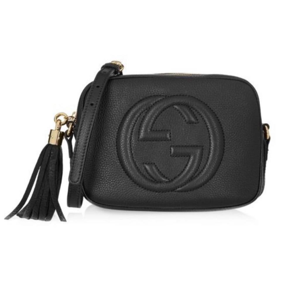 e5dd62b0366e Gucci Soho Disco Camera Logo Tassel Leather Cross Body Bag - Tradesy