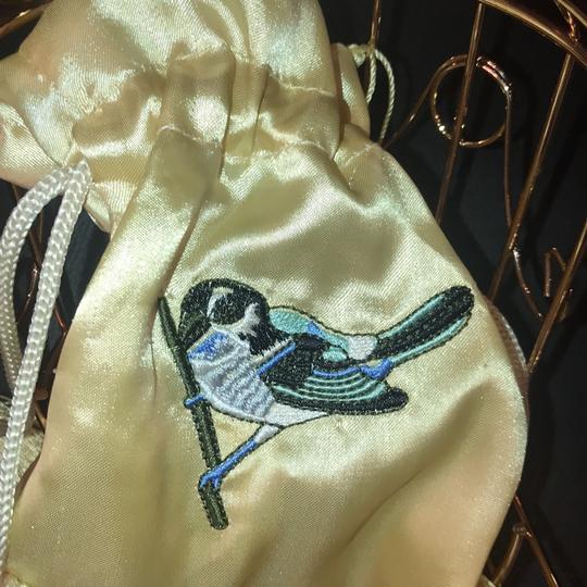 Caged Bird Wristlet in Gold Image 4