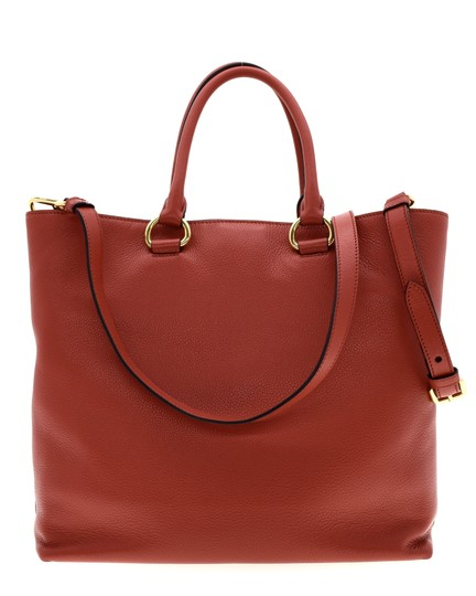 Prada Shoulder Tote in Red Image 2